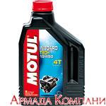 Моторное масло MOTUL Inboard Tech 4T 15W-50 Technosynt для стационарных двигателей, (2 литра)