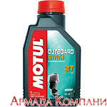 Моторное масло MOTUL Outboard Synth 2T 100% Synth. Ester (1 литр)