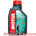 Моторное масло MOTUL Outboard Tech 2T Technosynt (1 литр )