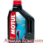 Моторное масло MOTUL Outboard Tech 4T 10W-30 Technosynt для подвесных двигателей (2 литра)