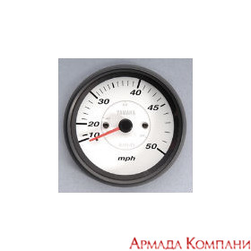 Спидометр YAMAHA аналоговый 0-50 кмч, белый